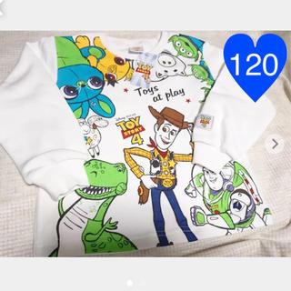 トイストーリー(トイ・ストーリー)の◆ トイストーリー4 トレーナー 120(Tシャツ/カットソー)