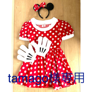 ディズニー(Disney)の【Dハロ】ミニーマウス コスプレ衣装【ハロウィン】(コスプレ)