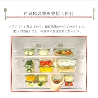 HARIO - 保存容器耐熱ガラス IWAKIパック&レンジ丸型3点セット×3 レンジOK