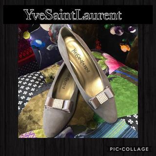 サンローラン(Saint Laurent)の正規品꙳★YveSaintLaurentイヴサンローラン✧︎ビジューパンプス꙳(ハイヒール/パンプス)