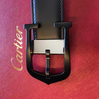 カルティエ(Cartier)の【カルティエ】ブラックバックル・Cアロンジェ(ベルト)