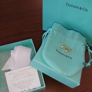 ティファニー(Tiffany & Co.)のティファニー☆バイザヤード☆ダイヤモンドピアス☆附属品完備!(ピアス)