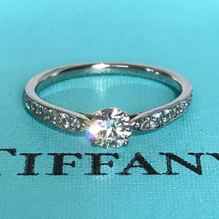 Tiffany & Co. - ティファニー ハーモニー ビーズセッティング 0.29ct ダイヤモンドリング