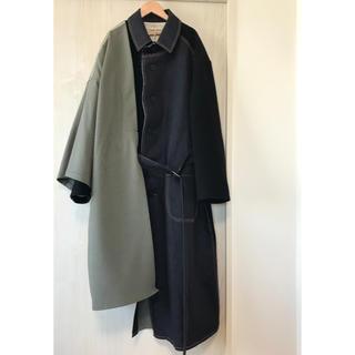 SUNSEA - 【KHOKI】fall coat