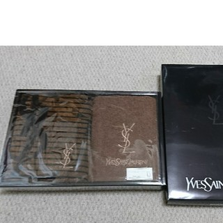イヴサンローランボーテ(Yves Saint Laurent Beaute)のイブサンローラン フェイスタオル2枚セット(タオル/バス用品)