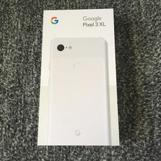 ANDROID - 新品未使用 Pixel3 XL 白 SIMフリー Google Android