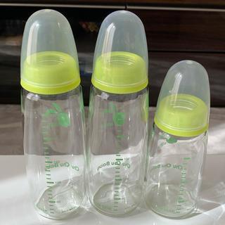 哺乳瓶 3セット チュチュベビー(哺乳ビン)