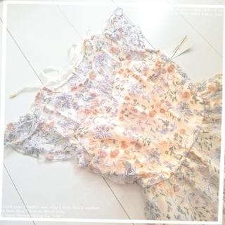 Lily Brown - 【最終値下げ】Lily Brown❀フラワー刺繍ワンピース オフホワイト 難有り