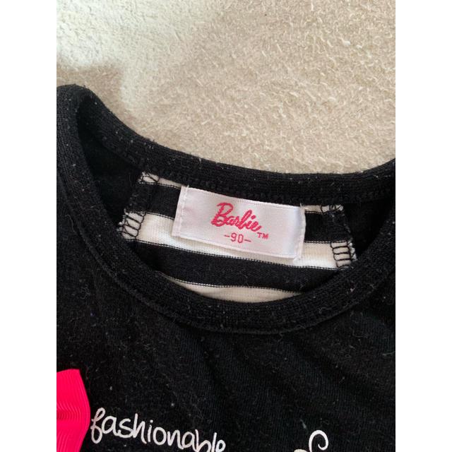 Barbie(バービー)のBarbie トップス 90cm キッズ/ベビー/マタニティのキッズ服 女の子用(90cm~)(Tシャツ/カットソー)の商品写真