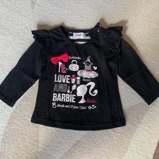 バービー(Barbie)のBarbie トップス 90cm(Tシャツ/カットソー)