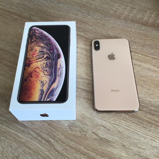 Apple - iPhone XS MAX ゴールド 256GB SIMフリー