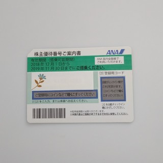 ANA(全日本空輸) - ANA株主優待券 1枚