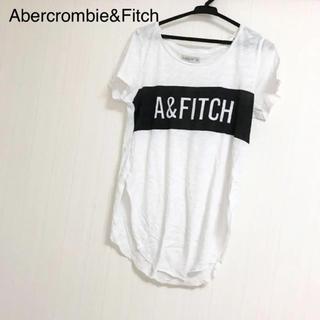 アバクロンビーアンドフィッチ(Abercrombie&Fitch)のAbercrombie&Fitch アバクロ Tシャツ ロゴ(Tシャツ(半袖/袖なし))