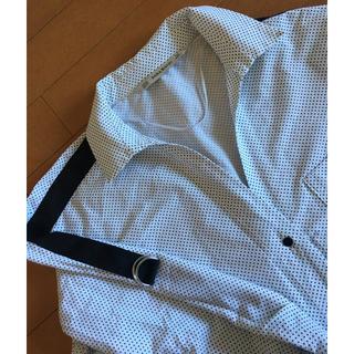 ザラ(ZARA)のZARAドットシャツ 新品(シャツ/ブラウス(長袖/七分))