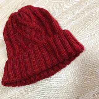 パサージュミニョン(passage mignon)のニット帽(ニット帽/ビーニー)
