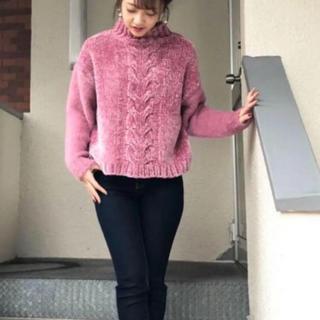PICCIN - 新品 タグ付き PICCIN ニット セーター ピンク M