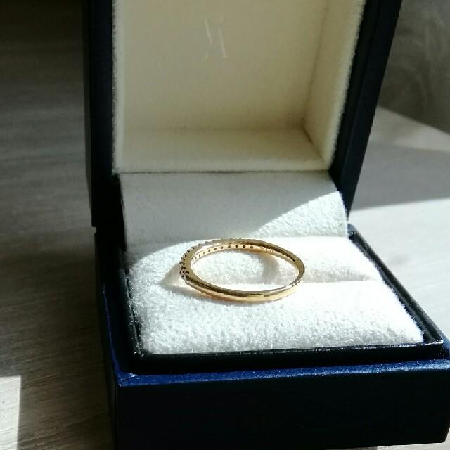 Vendome Aoyama(ヴァンドームアオヤマ)のらら様ご専用 Vendome Aoyama  ハーフエタニティ K18 YG レディースのアクセサリー(リング(指輪))の商品写真