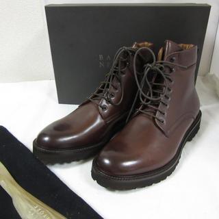 バーニーズニューヨーク(BARNEYS NEW YORK)の新品半額バーニーズニューヨーク イタリア製レザーブーツ US9.5 27.5cm(ブーツ)