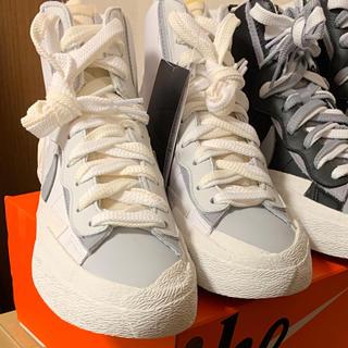 ナイキ(NIKE)のNike x Sacai  Blazer Mid white(スニーカー)
