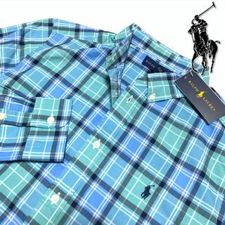 ポロラルフローレン(POLO RALPH LAUREN)のRALPH LAUREN 薄手チェックシャツ /L.Gre 170(シャツ)