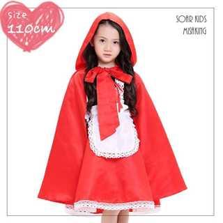 アウトレット⭐️赤ずきんちゃんワンピースセット 110cm(M) 海外子供服(ワンピース)