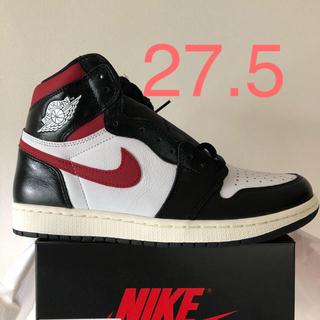 ナイキ(NIKE)の27.5 Jordan1 Gym Red(スニーカー)