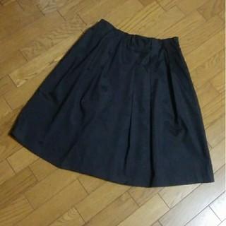 ガリャルダガランテ(GALLARDA GALANTE)のガリャルダガランテ フレアスカート ブラック(ひざ丈スカート)