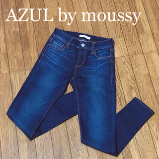 AZUL by moussy - AZUL by moussy スキニーデニム Sサイズ