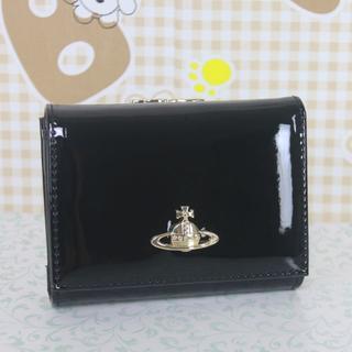 Vivienne Westwood - ヴィヴィアンウエストウッド 折財布 がま口財布 エナメル