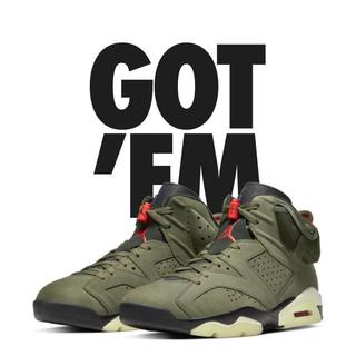 ナイキ(NIKE)のTRAVIS SCOTT AIR JORDAN 6 27cm(スニーカー)