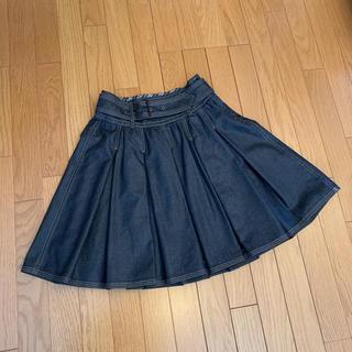 BURBERRY BLUE LABEL - バーバリーブラックレーベル スカート デニム  38