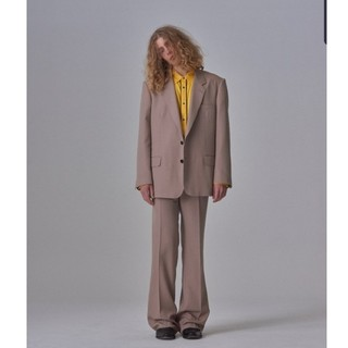 ジョンローレンスサリバン(JOHN LAWRENCE SULLIVAN)の(求)littlebig19ss single jacket ベージュ(テーラードジャケット)