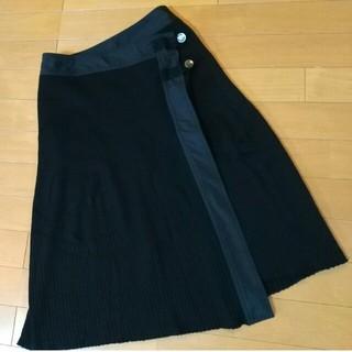 ヒロココシノ(HIROKO KOSHINO)のHIROKO KOSHINO  巻きスカート 9号(ひざ丈スカート)