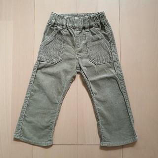 ムジルシリョウヒン(MUJI (無印良品))のコーデュロイ 長ズボン 無印良品 80cm(パンツ)