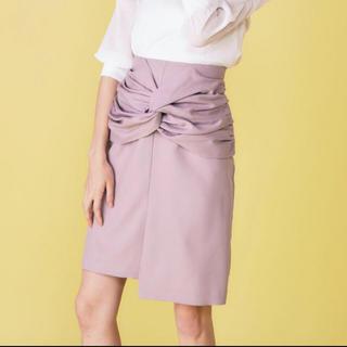 MIIA - 新品・タグ付き・ねじりタイトスカート