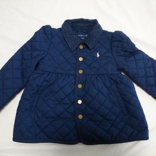 ラルフローレン(Ralph Lauren)のラルフローレンキッズ コート 110 4歳 中綿コート キルティング ネイビー(コート)