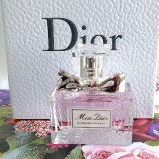 ディオール(Dior)のDior☆ほぼ未使用☆ミスディオールブルーミングブーケオードゥトワレ30ml💗(香水(女性用))