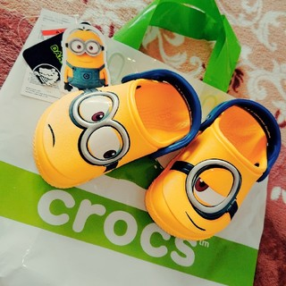 crocs - crocs ミニオン 未使用 15cm