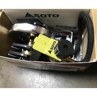 シンフジパートナー(新富士バーナー)のsoto シングルバーナー ST-301 ✨新品、未使用✨(ストーブ/コンロ)