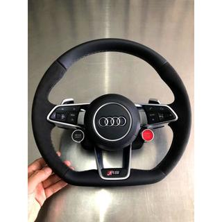 AUDI - Audi R8 RS ステアリングホイール ハンドル レザー仕様