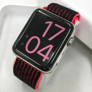 アップルウォッチ(Apple Watch)のApple Watch series2 ステンレス 42mm アップルウォッチ(その他)