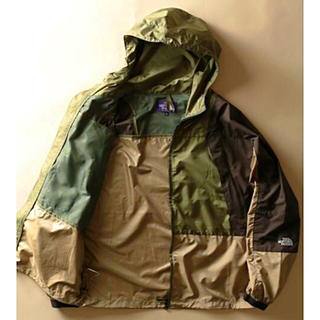 ザノースフェイス(THE NORTH FACE)のJOURNAL STANDARD NORTH FACE PURPLE LABEL(マウンテンパーカー)