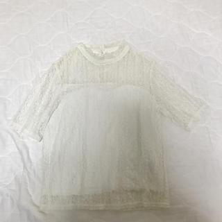 アズノゥアズピンキー(AS KNOW AS PINKY)の美品 半袖(カットソー(半袖/袖なし))