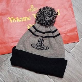 【美品】ヴィヴィアン/オーブ、ニット帽
