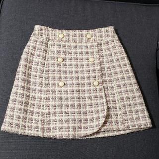 LODISPOTTO - LODISPOTTO ツイード 台形スカート タイトスカート