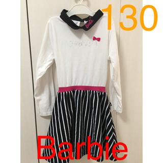バービー(Barbie)の⭐︎値下げ⭐︎Barbie ワンピース 130 長袖(ワンピース)