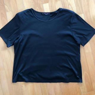レオナール(LEONARD)のレオナール ブラックTシャツ(Tシャツ(半袖/袖なし))