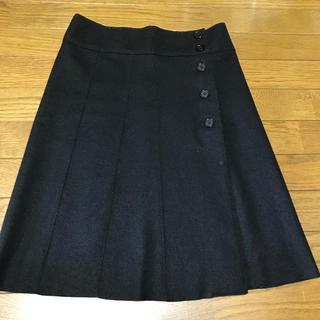 ワールドベーシック(WORLD BASIC)の巻きスカート(ひざ丈スカート)