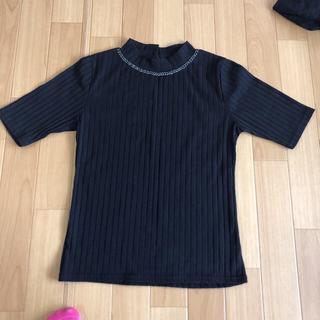 アベイル(Avail)のビジュー 五分丈シャツ(Tシャツ(長袖/七分))