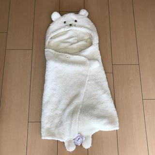 motherways - 【新品】マザウェイズおくるみ フリースポンチョ